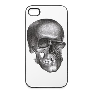 Zwinkernder Schädel - iPhone 4/4s Hard Case