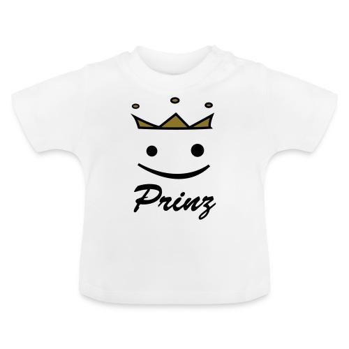 Baby Kurzarm-Body Prinz - Baby T-Shirt