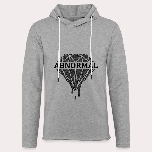Abnormal Diamond Hoodie (Black Logo) - Light Unisex Sweatshirt Hoodie