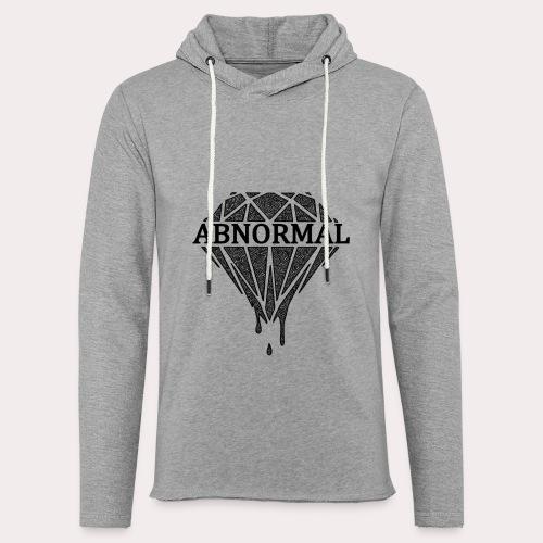 Abnormal Diamond Hoodie (Black Logo) - Light Unisex Sweatshirt Hoodie