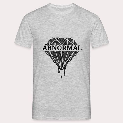 Abnormal Diamond Hoodie (Black Logo) - Men's T-Shirt