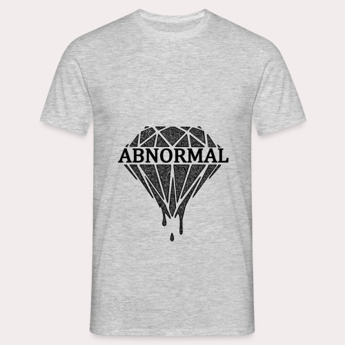 Abnormal Diamond Hoodie (Black Logo) - Men's T-Shirt