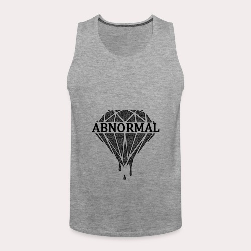 Abnormal Diamond Hoodie (Black Logo) - Men's Premium Tank Top