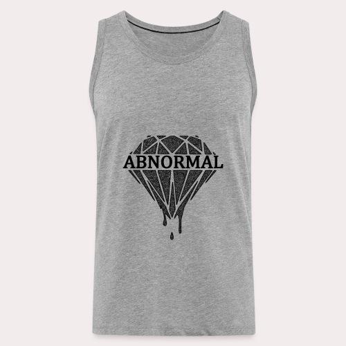 Abnormal Diamond Hoodie (Black Logo) - Men's Premium Tank Top