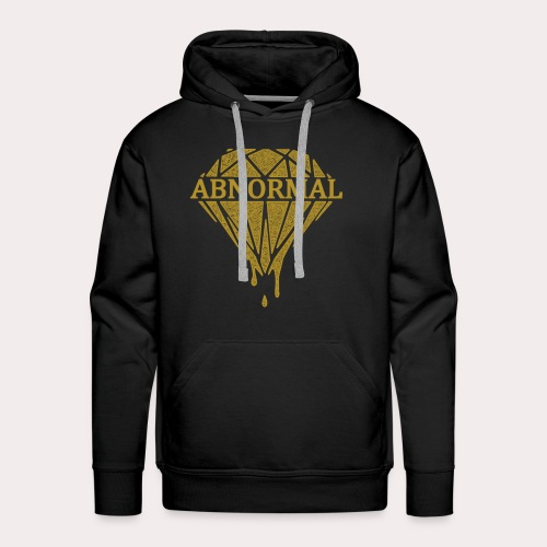 Abnormal Diamond Hoodie (Gold Logo) - Men's Premium Hoodie