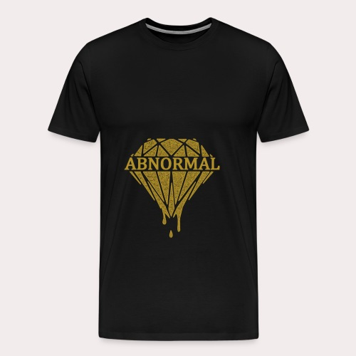 Abnormal Diamond Hoodie (Gold Logo) - Men's Premium T-Shirt