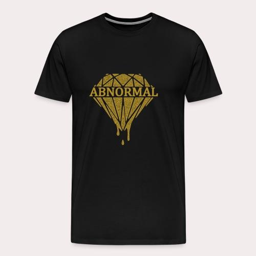 Abnormal Diamond Hoodie (Gold Logo) - Men's Premium T-Shirt