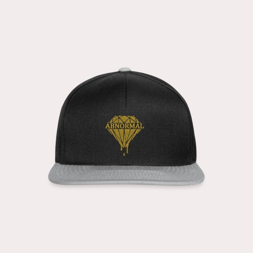 Abnormal Diamond Hoodie (Gold Logo) - Snapback Cap