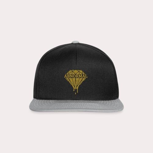 Abnormal Diamond Hoodie (Gold Logo) - Snapback Cap