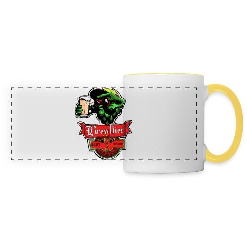 Dessous de verres - Brewffier - Mug panoramique contrasté et blanc