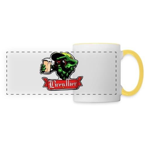 Badges - Brewffier - Mug panoramique contrasté et blanc