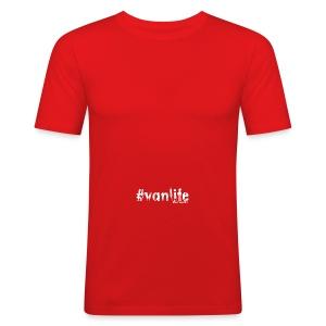 #vanlife baseball cap - Men's Slim Fit T-Shirt