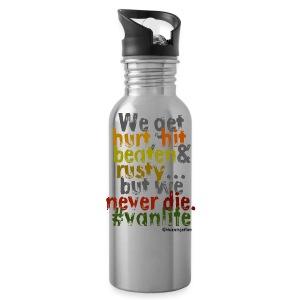 We get hurt - pillow - Water Bottle