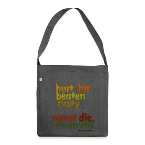 We get hurt - pillow - Shoulder Bag made from recycled material