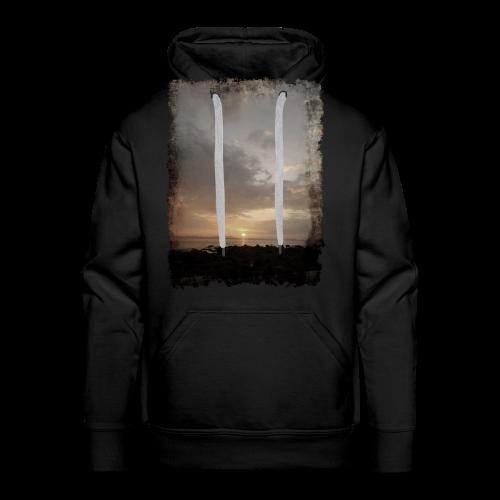 ausgerissen Sonnenuntergang Shirt - Männer Premium Hoodie