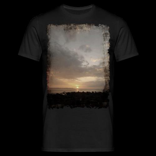 ausgerissen Sonnenuntergang Shirt - Männer T-Shirt
