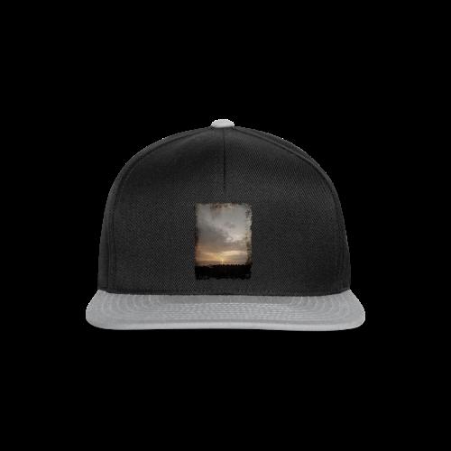 ausgerissen Sonnenuntergang Shirt - Snapback Cap