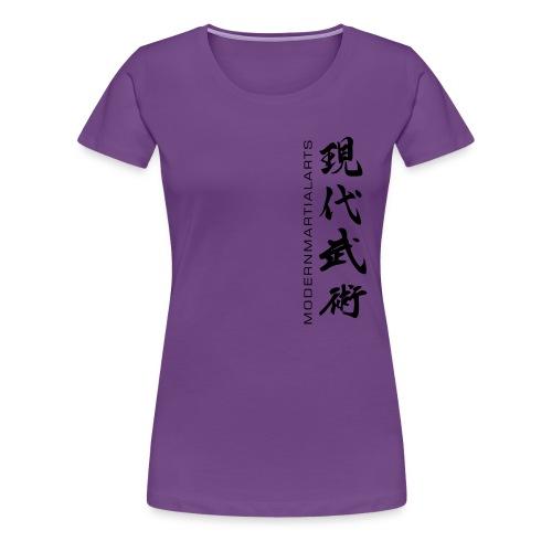 MMA ONI 'MONSTER' PREMIUM HOODY - Women's Premium T-Shirt