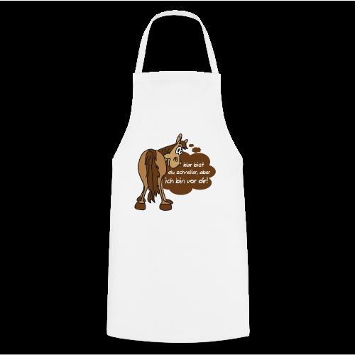 Schnelles Pferd-Braun - Kochschürze