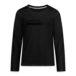 Loading - Teenager Premium Langarmshirt