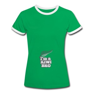 Awesome New Zealander retro bag  - Women's Ringer T-Shirt