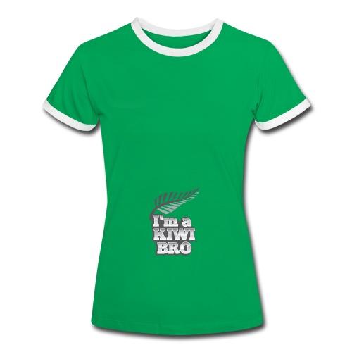 Awesome New Zealander retro bag  - Women's Ringer T-Shirt