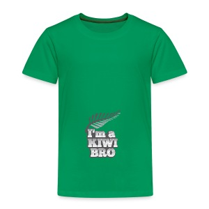 Awesome New Zealander retro bag  - Kids' Premium T-Shirt