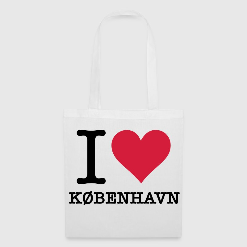 I love Copenhagen Bags & Backpacks - Tote Bag