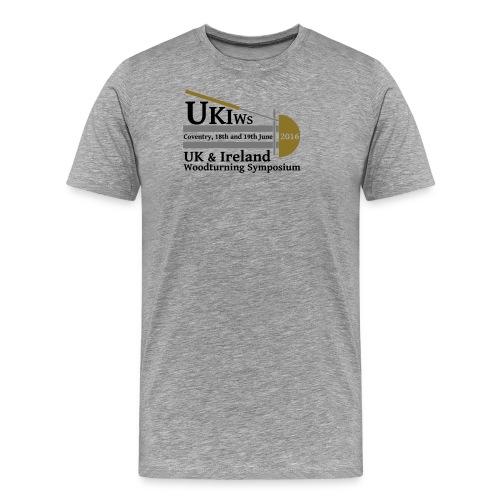 UKIWS Gent's T-Shirt - Men's Premium T-Shirt