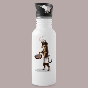 Dachshund Cook - Water Bottle
