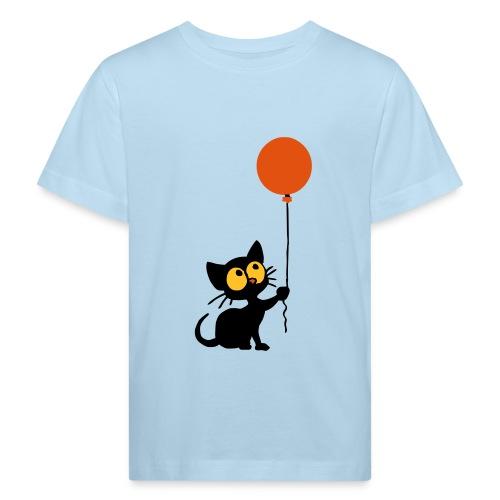 Cat - Kinder Bio-T-Shirt