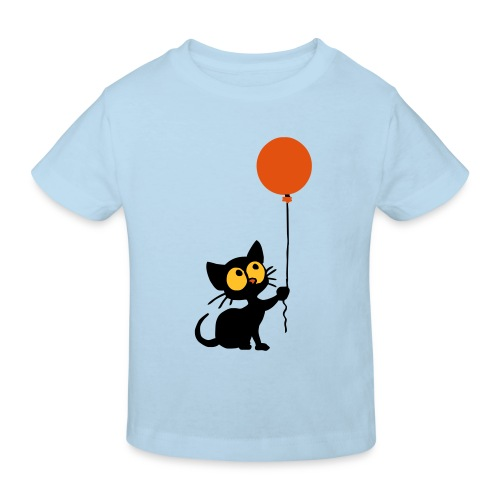 Cat - Kinder Bio-T-Shirt