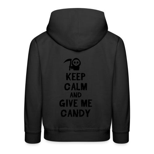 Baby boy Halloween onesie  - Kids' Premium Hoodie