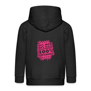 Baby boy body awesome - Kids' Premium Zip Hoodie