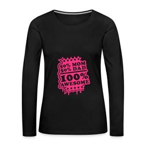 Baby boy body awesome - Women's Premium Longsleeve Shirt