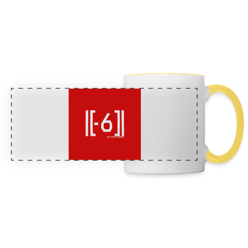 Sous bock Red Logo  - Panoramic Mug