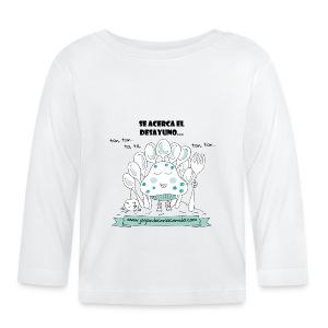 Se acerca el desayuno para los más peques - Camiseta manga larga bebé