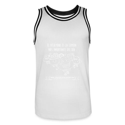 El desayuno en la comida más importante del día para los más peques - Camiseta de baloncesto para hombre