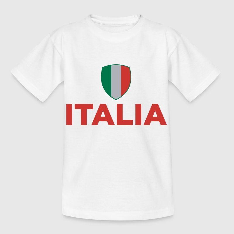 Nationale flag Italien T-shirts - Børne-T-shirt