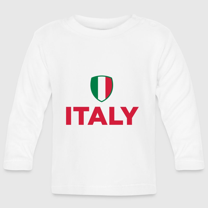 National flag of Italy Baby Long Sleeve Shirts - Baby Long Sleeve T-Shirt