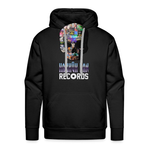 Hakkûh Dan Records official T-shirt! - Mannen Premium hoodie