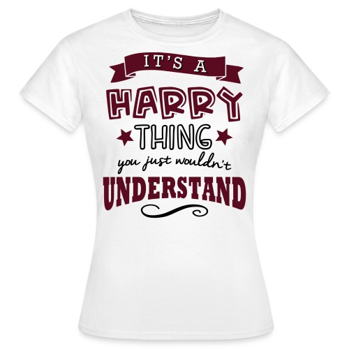 Women's It's A Harry Thing T-Shirt - Women's T-Shirt