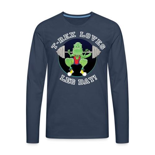 Men's T-Rex T-Shirt - Men's Premium Longsleeve Shirt