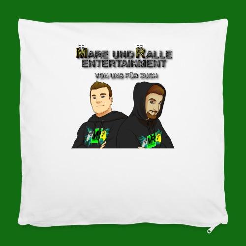 Tasse Mare und Ralle - Kissenbezug 40 x 40 cm