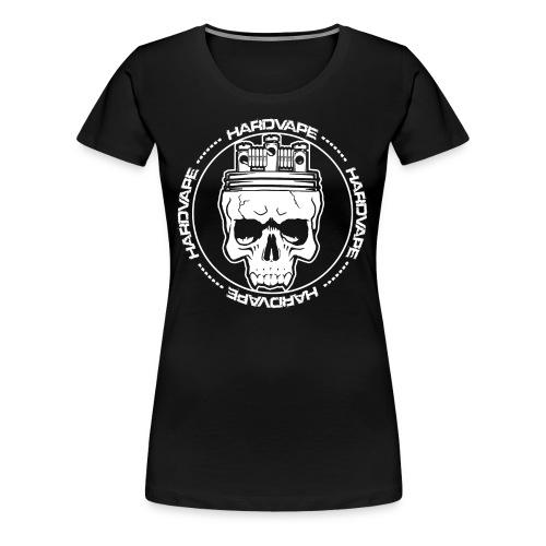 HardVape Fanshirt Skull Logo - Frauen Premium T-Shirt