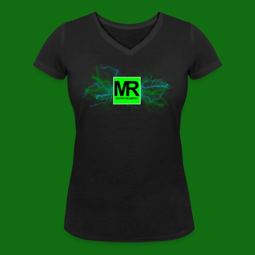 MRE T-Shirt Mädels - Frauen Bio-T-Shirt mit V-Ausschnitt von Stanley & Stella
