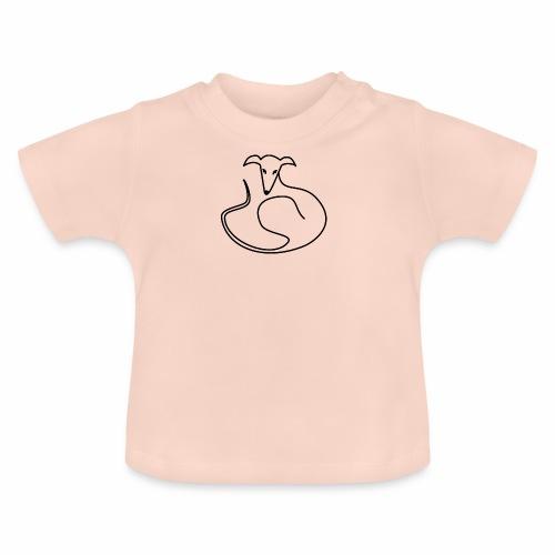 Elegant liegend - Baby T-Shirt
