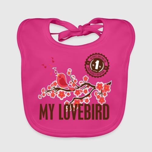 LOVEBIRD - Baby økologisk hagesmæk