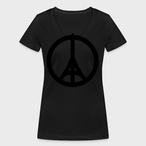 Je Suis Paris - Frauen Bio-T-Shirt mit V-Ausschnitt von Stanley & Stella