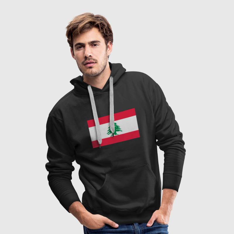Lebanon - Liban Sweat-shirts - Sweat-shirt à capuche Premium pour hommes